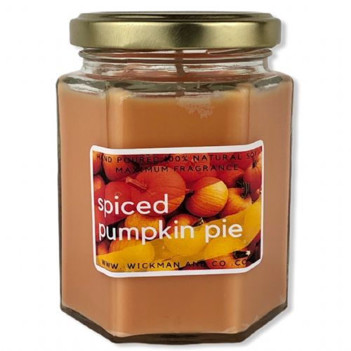 Spiced Pumpkin Pie Soy Wax Candle
